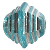 Transparent Plated Colorful(Silver) Plastic Beads, A Grade, 10mm, Hole:Approx 2mm, Sold by Bag