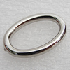 Jewelry findings, CCB Plastic Donut, Platina Plated, Outside Diameter:26x17mm Inner Diameter:19.5x11.5mm, Sold by Bag