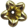 Electroplate Plastic Beads, Flower, 13mm, Hole:Approx 1.5mm, Sold by Bag