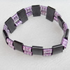 Magnetic Bracelet, width Approx:18mm, Length Approx:7.1-inch, Sold by Strand