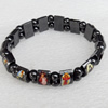 Nonmagnetic Bracelet, width Approx:12mm, Length Approx:7.1-inch, Sold by Strand
