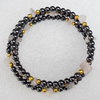 Nonmagnetic Bracelet, Length Approx:4.7-inch, Sold by Strand