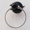 Gemstone Finger Rings, 12mm, Sold by Box