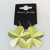 Aluminium Earrings, Flower 48mm, Sold by Group