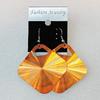 Aluminium Earrings, Diamond 47mm, Sold by Group