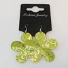 Aluminium Earrings, Flower 47mm, Sold by Group