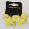 Aluminium Earrings, Butterfly 46x34mm, Sold by Group