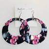 Iron Earrings, Donut 60mm, Sold by Group