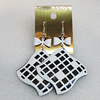 Iron Earrings, 47mm, Sold by Group