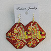 Iron Earrings, Diamond 48mm, Sold by Group