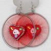 Fashional Earrings, Thread, 65mm, Length:3.14-inch, Sold by Dozen