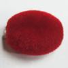 Villiform Acrylic Beads, Oval 18x13mm Hole:2.5mm, Sold by Bag