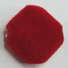 Villiform Acrylic Beads, Diamond 21x21mm Hole:2.5mm, Sold by Bag