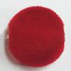 Villiform Acrylic Beads, Flat Round 16x16mm Hole:2.5mm, Sold by Bag