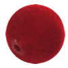 Villiform Acrylic Beads, Round 18mm Hole:2.5mm, Sold by Bag