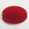 Villiform Acrylic Beads, Flat Oval 28x20mm Hole:2.5mm, Sold by Bag