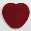 Villiform Acrylic Beads, Heart 29x29mm Hole:2mm, Sold by Bag