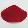 Villiform Acrylic Beads, Twist Flat Oval 43x29mm Hole:2mm, Sold by Bag