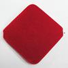 Villiform Acrylic Beads, Diamond 46mm Hole:2.5mm, Sold by Bag