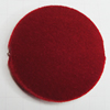 Villiform Acrylic Beads, Flat Round 40mm Hole:2.5mm, Sold by Bag