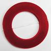 Villiform Acrylic Beads, Donut O:34mm I:21mm Hole:2mm, Sold by Bag