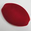 Villiform Acrylic Beads, Flat Oval 50x33mm Hole:2mm, Sold by Bag