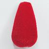 Villiform Acrylic Beads, Teardrop 27x14mm Hole:2.5mm, Sold by Bag