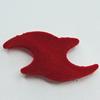 Villiform Acrylic Beads, 48x25mm Hole:3.5mm, Sold by Bag