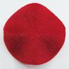 Villiform Acrylic Beads, Twist Flat Round 27mm Hole:2mm, Sold by Bag
