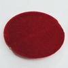 Villiform Acrylic Beads, Flat Oval 35x26mm Hole:2mm, Sold by Bag