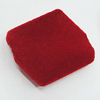Villiform Acrylic Beads, Diamond 36x32mm Hole:3mm, Sold by Bag