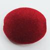 Villiform Acrylic Beads, Flat Oval 29x24mm Hole:3mm, Sold by Bag