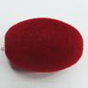 Villiform Acrylic Beads, Oval 30x20mm Hole:3.5mm, Sold by Bag