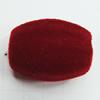 Villiform Acrylic Beads, Oval 26x20mm Hole:5mm, Sold by Bag