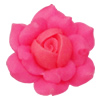 Handmade Polymer Clay Beads, Flower 28mm Hole:2mm, Sold by Bag
