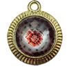 Jewelry Findings, CCB Plastic Pendant with Resin, 27x34mm, Sold by PC