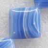 Malachite Beads,Diamond, 23mm, Hole:Approx 1mm, Sold per 16-inch Strand