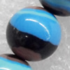 Gemstone Beads,Round, 12mm, Hole:Approx 1mm, Sold per 16-inch Strand