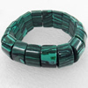 Malachite Bracelet,20mm, Length Approx:7.1-inch, Sold by Strand