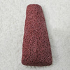 Natural Lava Pandents, Trapezia 58x27x15mm, Sold by PC