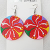 Silicon Rubber Fashionable Earring, 40x60mm, Sold by Dozen