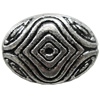 Antique Silver Plastic Beads, 24x18mm, Hole:Approx 1.5mm, Sold by Bag