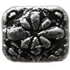 Antique Silver Plastic Beads, 12x11mm, Hole:Approx 1.5mm, Sold by Bag