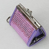 Fashion Jewelry Bag, 61x48x38mm, Sold by PC