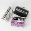 Fashion Jewelry Bag, Mix Color, 86x48x38mm, Sold by PC