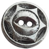 Clasps Zinc Alloy Jewelry Findings Lead-free, 16mm, Hole:2mm, Sold by Bag