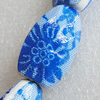 Printing Ceramics Beads, Nugget 34x22mm Hole:3.5mm, Sold by Bag