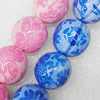 Printing Ceramics Beads, Round 18mm Hole:2mm, Sold by Bag