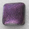 lampwork Cabochons, Square 8mm, Sold by PC