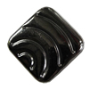 Jewelry findings, CCB Plastic Beads, Plumbum black, Diamond 24mm Hole:1mm, Sold by Bag